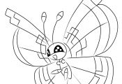 Vivillon Pokemon Coloring Pages Vivillon Pokemon Coloring Pages