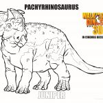 Walking with Dinosaurs Movie Coloring Pages Walking with Dinosaurs Movie Coloring Pages