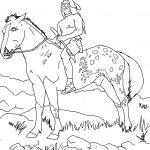 Western Horse Coloring Pages Western Horse Coloring Pages