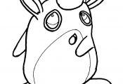 Wigglytuff Pokemon Coloring Page Wigglytuff Pokemon Coloring Page