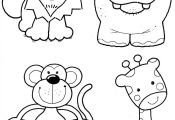 Wild Animals for Coloring Wild Animals for Coloring