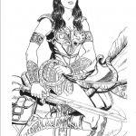 Xena Warrior Princess Coloring Pages Xena Warrior Princess Coloring Pages