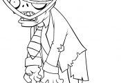 Zombie Princess Coloring Pages Zombie Princess Coloring Pages