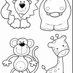 Zoo Animals Coloring Pages Zoo Animals Coloring Pages