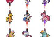 100Pcs My Little Pony Pencil Cap For Standard Pencils,Pen Pencil Case Accessory