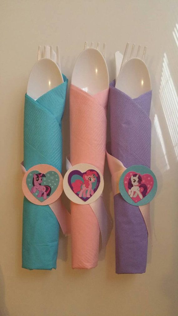12-cutlery-set-my-little-pony-theme-by-XamirasCreations-on-Etsy 12 cutlery set my little pony theme by XamirasCreations on Etsy Cartoon