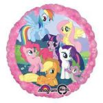 "18"" My Little Pony - Non-Pkg Foil Balloon (5ct)"