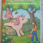 1980s MY LITTLE PONY in the Country Coloring by CharlotteStuff, $6.95