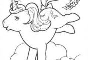1980s my little pony coloring page - Google Search