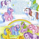 1984 My Little Pony Medley backcard! All my favorites ♥