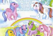 1984 My Little Pony Medley backcard! All my favorites ♥  backcard, favorites, ...