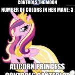 #99393 - alicorn, changeling, colors, comic, logic, pegasus, pony, princess cada...