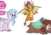 A compilation of My Little Pony coloring page videos Smolder coloring book page ...