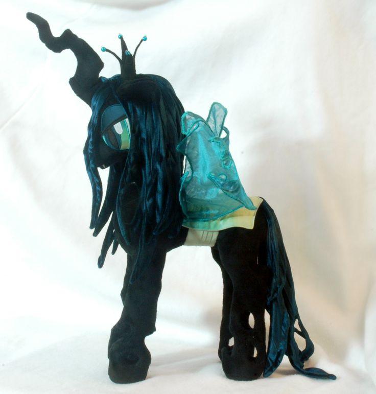 Absolutely-Amazing-My-Little-Pony-plushie Absolutely Amazing My Little Pony plushie Queen Chrysalis Cartoon