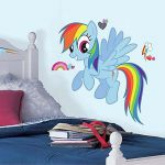 Add a pop of color to your child's bedroom with the York Wallcoverings My Li...