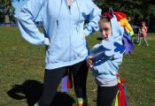 An easy way to make a My Little Pony costume for adults and kids using a hoodie ...