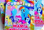 Capa Revista Colorir My Little Pony Arte feitas especialmente para você. Mais d...