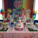 Check out this colorful My Little Pony Birthday Party! loving the birthday cake!...