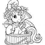 Coloriage gratuit My little pony