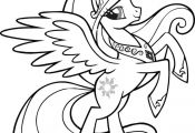 Coloring Page My Little Pony Jpg