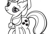 Coloring pages for My Little Pony - mostly from the reboot, but there are also s...