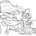 Cute My Little Pony Coloring Pages #cutemylittleponycoloringpages #mlpcoloringpa...