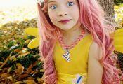 DIY My Little Pony Fluttershy Halloween Costume Idea