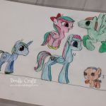 Design and color your own My Little Pony.  Great idea for MLP party craft!