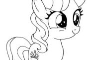 Diamond Tiara My Little Pony Coloring page