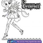 Download these My Little Pony Equestria Girls Legend of Everfree coloring pages ...