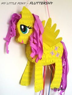 FLUTTERSHY-My-little-pony-pinata-birthday-gift-any-party-joy...-for-all-ages FLUTTERSHY - My little pony pinata, birthday gift, any party joy... for all ages... Cartoon