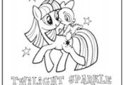 FREE My Little Pony Coloring Sheet | www.kouponkaren.c...