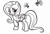 "Fluttershy coloring sheet from the ""My Little Pony Friendship is Magic: The Frie..."