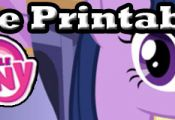 Free My Little Pony Friendship is Magic Printables. They include coloring pages,...