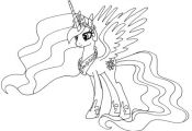 Free My Little Pony Kids Printables - diy Thought. Free coloring pages.