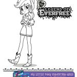 Free Printable My Little Pony Equestria Girls Everfree Coloring Page  Coloring, ...