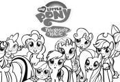 Free Printable Picture Of My Little Pony To Color Online