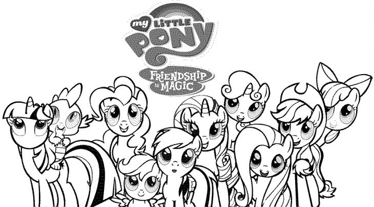 Free-Printable-Picture-Of-My-Little-Pony-To-Color-Online Free Printable Picture Of My Little Pony To Color Online Cartoon