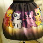 Haha!    My Little Pony full skirt  made to order by NerdAlertCreations, $45.00