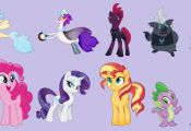 Here I present the characters of the my little pony movie. Namely, the new chara...