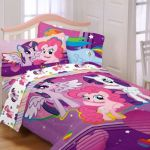 Here is a great idea for your childs bedroom, this My Little Pony Bedding Set wi...