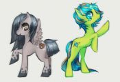 How To Draw My Little Pony Characters  characters, draw, Pony #cartoon #coloring...