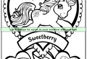How cute is this My Little Pony Coloring Page? Repin and share the fun!