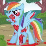 How to Draw Zombie Rainbow Dash, Zombie Rainbow Dash, My Little Pony, Step by St...
