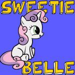 How to draw Sweetie Belle from My Little Pony: Friendship is Magic with easy ste...
