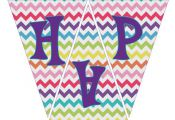 "INSTANT DOWNLOAD- My Little Pony Rainbow ""Happy Birthday"" Banner (My Little Pony..."
