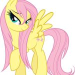 Image FANMADE Fluttershy wet mane.png My Little Pony