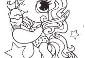 Little Pony Eat Ice Cream Coloring Pages - My Little Pony car ...