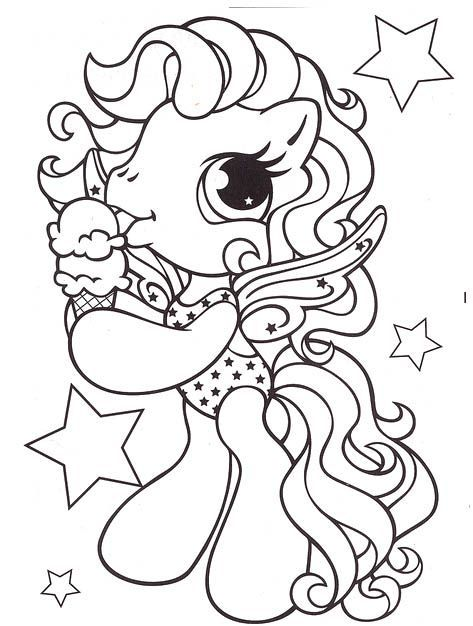 Little-Pony-Eat-Ice-Cream-Coloring-Pages-My-Little-Pony-car Little Pony Eat Ice Cream Coloring Pages - My Little Pony car ... Cartoon