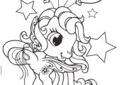 Little Pony Fly Bring Balloons Coloring Pages - My Little Pony car coloring page...